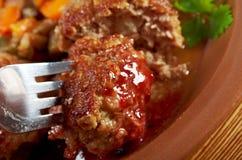 Boeuf de boulettes de viande Photos stock