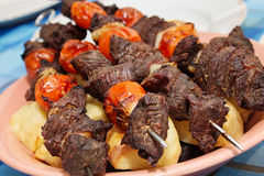Boeuf de Shashlik Images stock