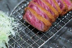 Boeuf frit avec le wasabi Image stock