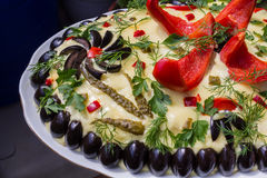 Boeuf-Salat Lizenzfreies Stockbild