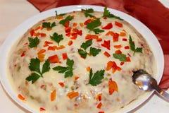 Boeuf Salat Stockbild