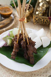 Boeuf Satay Photo stock