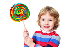 With bog lollipop Royalty Free Stock Photo