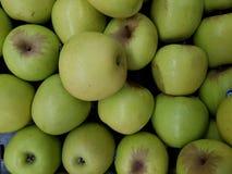 bogaci i miękcy żółci jabłka fotografia stock