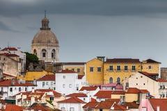 Bogaci kolory Lisbon obraz stock