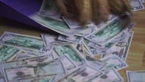 Bogactwo i mnóstwo pieniądze zbiory