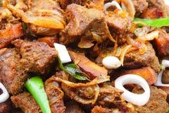 Bogata serdecznie mięso pieczeń zdjęcie royalty free