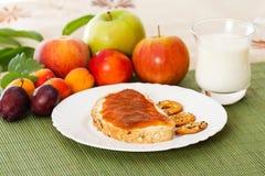 Bogaty śniadanie Zdjęcie Royalty Free
