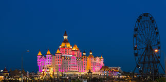 Bogatyr Hotel near the Sochi Olympic park Royalty Free Stock Image