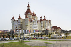 Bogatyr Hotel in Sochi Stock Images