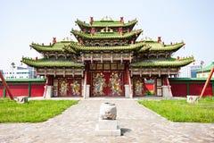 Bogd Khan Winter Palace royalty-vrije stock fotografie