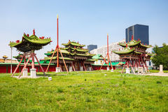 Bogd Khan Winter Palace Stock Photos
