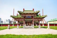 Bogd Khan Winter Palace Royalty Free Stock Photography
