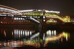 bogdan bridżowy khmelnitsky pieszy Zdjęcie Royalty Free