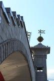 Bogdan Khmelnitsky (Kievsky) Pedestrian Bridge Royalty Free Stock Images