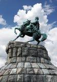 Bogdan Khmelnitsky monument. In Kiev Royalty Free Stock Photography