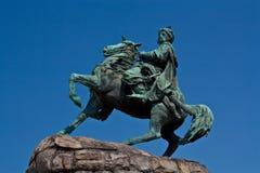 Bogdan Khmelnitsky monument Stock Photography