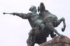 Bogdan Khmelnitsky monument. Sophia square, Kiev, Ukraine Royalty Free Stock Images