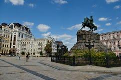 Free Bogdan Khmelnitsky Monument, Kiev Stock Photo - 48592140
