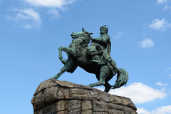 Bogdan Khmelnitsky monument, Kiev Royalty Free Stock Photo