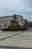 bogdan khmelnitsky monument till royaltyfri bild