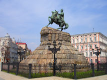 Bogdan Khmelnitsky statue Royalty Free Stock Photos