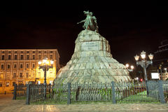 Bogdan Khmelnitsky statue Royalty Free Stock Photo