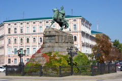 Bogdan Khmelnitsky statue Royalty Free Stock Images