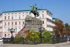 Bogdan Khmelnitsky statue Royalty Free Stock Images