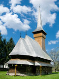 Bogdan Voda Church. The church is one of the most renowned ones in the region, due also to its central position in the valley of Iza, at a crossroads. The Royalty Free Stock Image