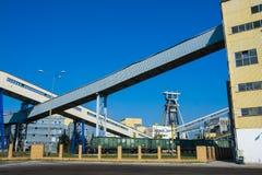 Bogdanka, Poland, SEPTEMBER 11, 2016: Bogdanka coal mine. Lubels. Ki Wegiel Bogdanka S.A. is one of the leading manufactures in hard coal market in Poland Royalty Free Stock Photography