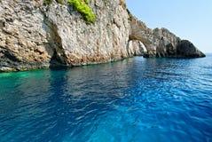 Bogen auf Zakynthos-Insel lizenzfreie stockbilder