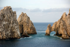 Bogen bei Baja California Lizenzfreie Stockfotos
