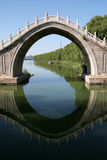 Bogen-Brücke Lizenzfreies Stockfoto