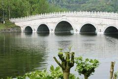 Bogen-Brücke Stockfotos