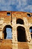 Bogen-Details, das Colosseum Stockfoto