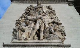 Bogen du Triomphe, Triumph ` s Bogen Stockfoto