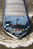 Bogen eines Lastkahnes Stockbild
