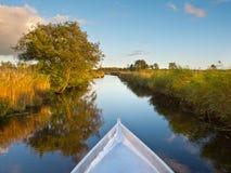 Rudern Sie Ihr Boot Lizenzfreie Stockbilder
