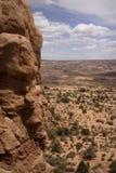 Bogen en het Panorama van Canyonlands NP, Moab, Utah Stock Afbeelding