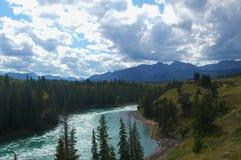 Bogen-Fluss Stockfotografie