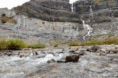 Bogen-Gletscher fällt 5 lizenzfreie stockbilder