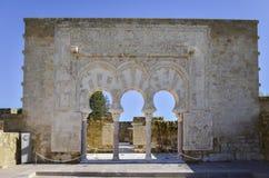 Bogen in Medina Azahara Royalty-vrije Stock Fotografie