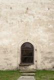 Bogen mit Fenster Stockfotos