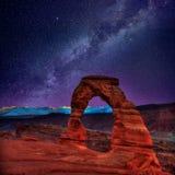 Bogen Nationaal Park in Moab Utah de V.S. Royalty-vrije Stock Fotografie