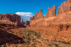 Bogen Nationaal Park, UT, de V.S. royalty-vrije stock afbeeldingen