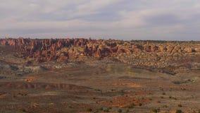 Bogen Nationaal Park in Utah - beroemd oriëntatiepunt stock video