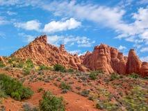 Bogen Nationaal Park, Utah, U S A royalty-vrije stock afbeelding