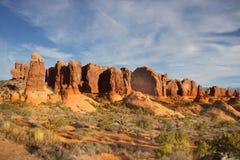 Bogen-Nationalpark   lizenzfreie stockfotos