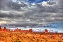 Bogen-Nationalpark in Moab Utah USA Stockfoto